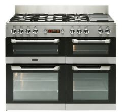 Leisure 110cm Cuisinemaster Range Cooker Dual Fuel CS110F722X (Stainless Steel)